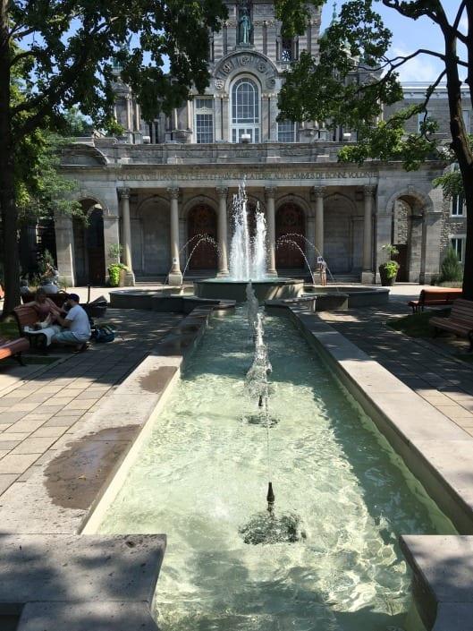 Fontaine du Parc Lahaie
